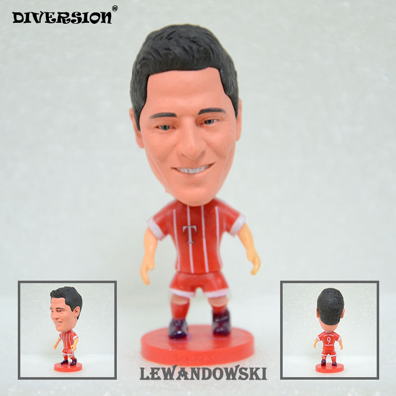 Soccer Star 9# LEWANDOWSKI (BM-2018) 2.5 Action Dolls Figurine soccerwe