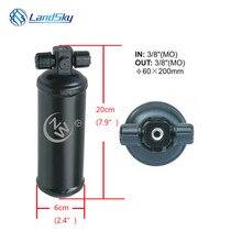 automobile dryer 515-4HR R134a Accumulator Receiver Drier M16 x 1.5 #6  3/8