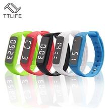 TTLIFE CD5 умный Браслет Фитнес трекер Смарт-часы точной 3D Шагомер Смарт Браслет Температура сна Мониторы браслет