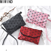 Women Geometric Shoulder Bag Ladies Luminous Sac Baobao Handbag Solid Female Messenger Bags Bolsas Feminina TAL483