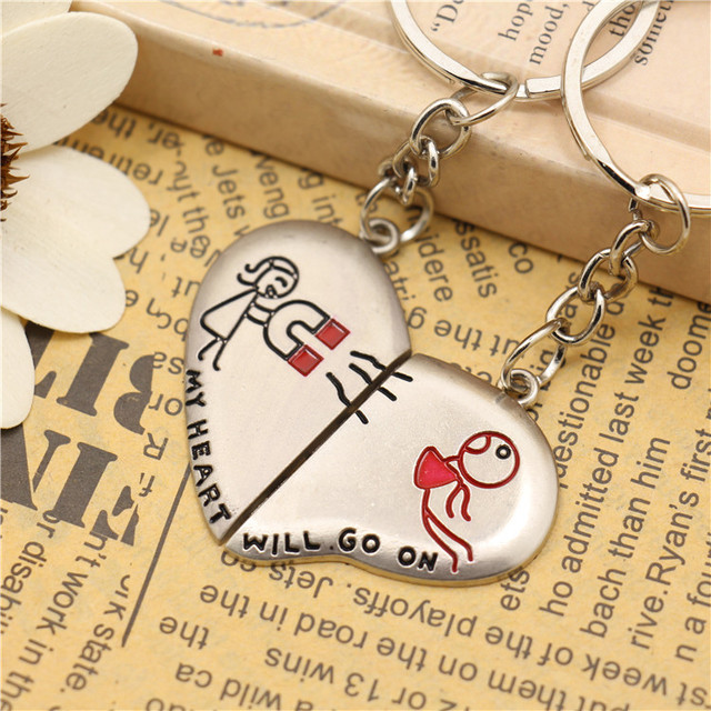 My Heart Wil Go On Keychain Wedding Favors And Gifts Baby Shower