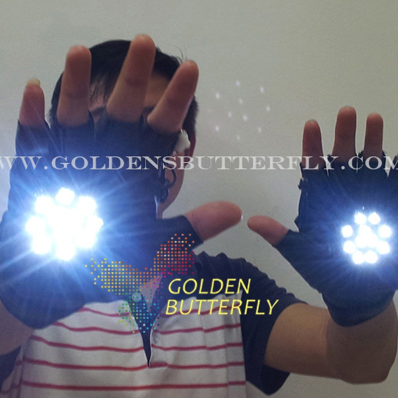Led Gloves 2017 Hot Luminesce Light Props