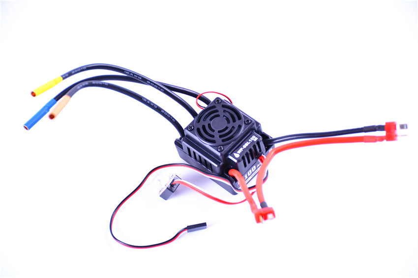 WP-8BL100 Waterproof 100A Brushless ESC for 3-4S LiPo battery fit 3650 3660 Motor image