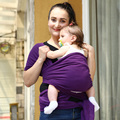2016 Caliente Colorido Abrigo Infantil Del Portador de Bebé Suave Transpirable Bebé Sling Hipseat Amamantar Nacimiento Cómodo Cubierta De Enfermería