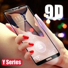 9D полное клеевое Защитное стекло для huawei Y9 закаленное стекло на Y7 Y6 Y5 Prime Enjoy 7s 7 8 Plus защита экрана