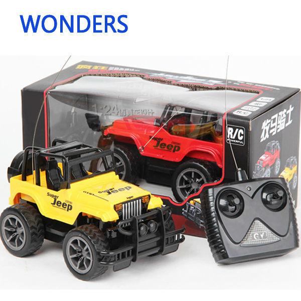 Super Toys 1 24 Jeep Large Remote Control Cars 4ch Remote Control