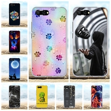 For Huawei Honor 10 Case Ultra-thin Soft TPU Silicone Cover Geometric Patterned Funda