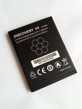 1 шт. обнаружения V8 мобильный телефон 2800 мАч Аккумулятор для V8 смартфон