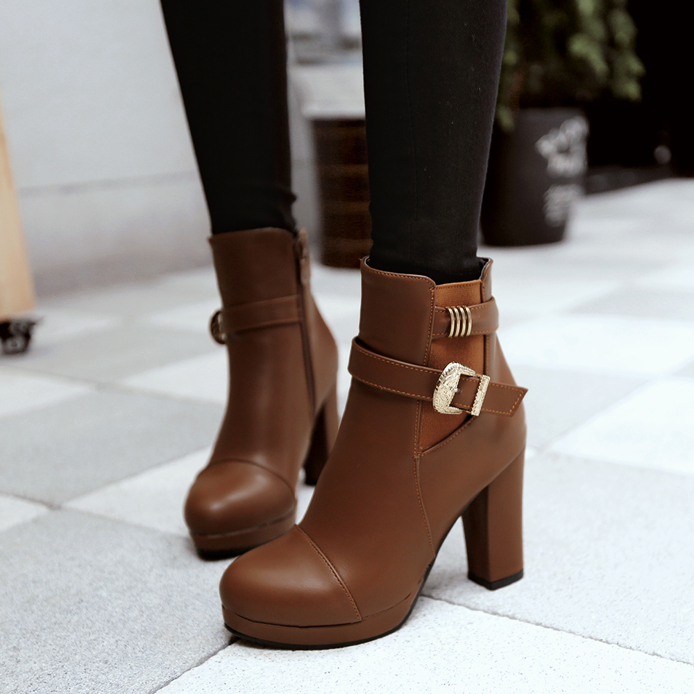 Ankle Boots Teenage Promotion-Shop for Promotional Ankle Boots ...