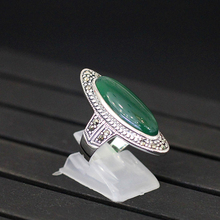 Vihrea Chalcedony Sterling Silver  Ring
