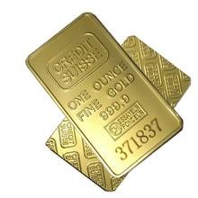 Fine Gold 999 Credit suisse Hot sale Surelife laser number