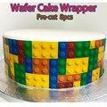 Съедобная Вафля для детской обертки для торта на день рождения  8 шт.  предварительно вырезанная Свадебная кружевная декорация для торта  съ...
