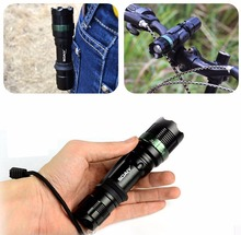 Cree Xml T6 Mini Tactical Flashlight Strong Lumen Pocket Light Adjustable Focus Led Torch Lantern Police Lamp for Hunting Hiking