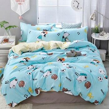 Cartoon Pictures Printing Textile Bedding Set Bedding Sets