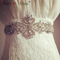 2016 High Quality Wedding Belt Bridal Sashes Crystal Beaded 100% Real Image Bridal Belts For Wedding Evening Party Hot Sale