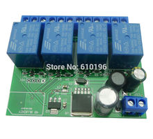 4 Channel 12V Relay Module Bluetooth 4.0 BLE Switch for Apple Android Phone IOT