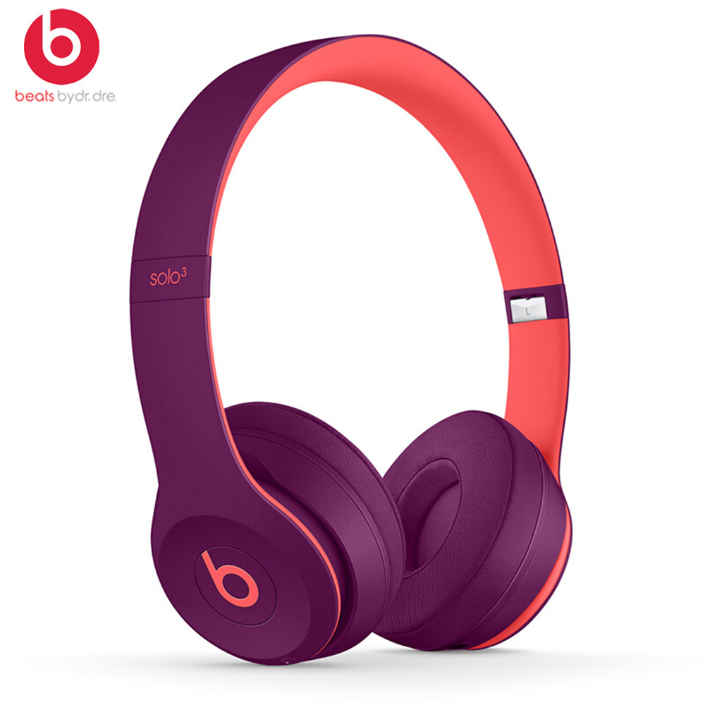 Image 4 - Beats by dre Solo3 Wireless Bluetooth Headphone On Ear Earphones Gaming Headset Music Hands free Earphone Solo 3  with Mic foneBluetooth Earphones & Headphones   -