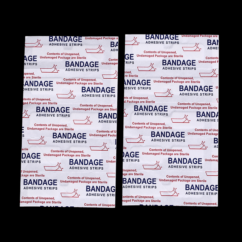 10PCS Adhesive Bandages Waterproof Band aid Butterfly Adhesive Wound Closure Band Aid Emergency kit 4