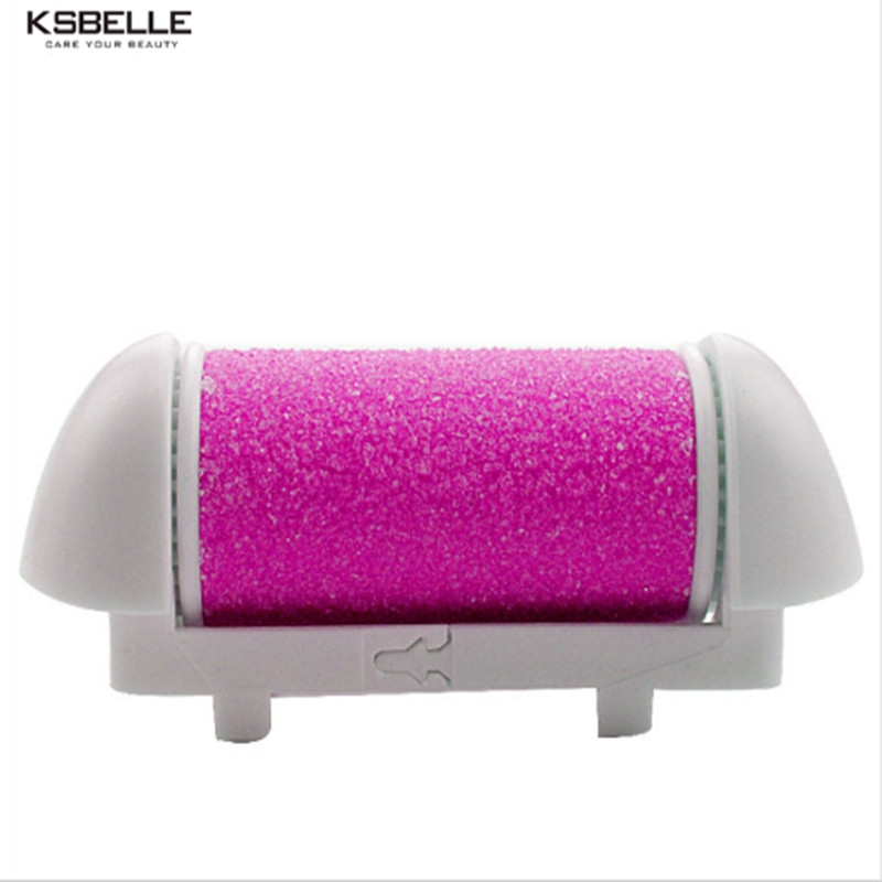 Replacement Roller Refill Heads for Electronic Foot File with Diamond Crystals for foot callus remover No Foot Care machine