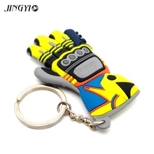 Cool Moto Motorcycle gloves gants Keychain Key Chains Ring For GSX-S750 GSX-S1000 GSXR 750 600 GSR DRZ CB500X
