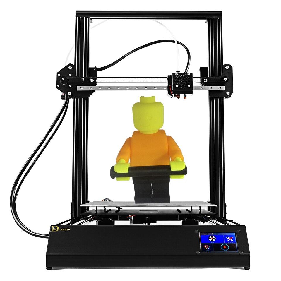 300*300*400mm grande taille d'impression DP-X 3D imprimante kit Full metal structure Linéaire guide railThermocouple Chaude fin Bowden extrudeuse