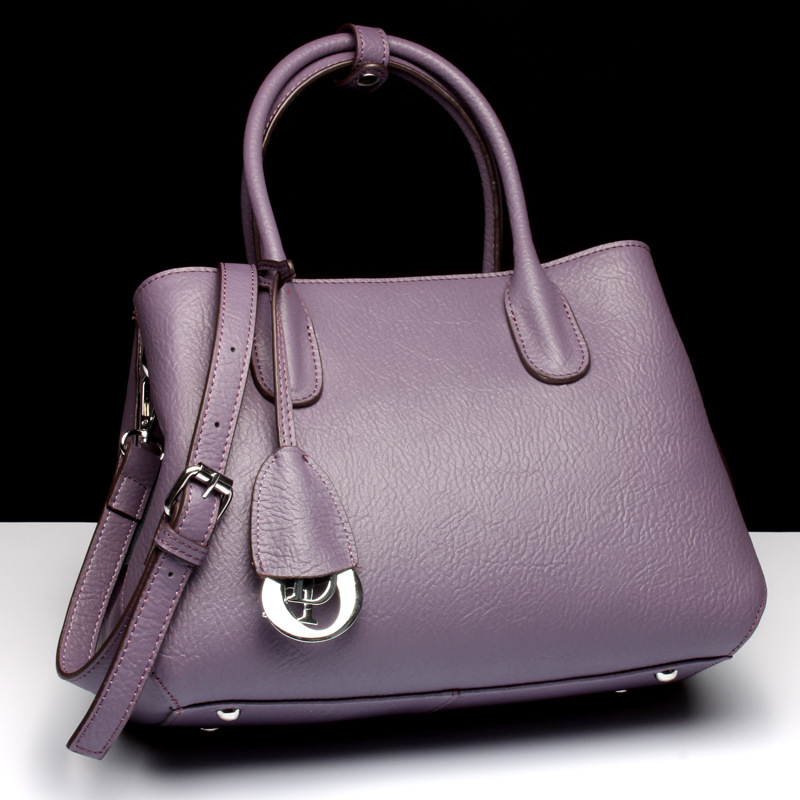 2018 Fashion Cow Genuine Leather Women Handbag Luxury Brands Shoulder Bag Solid Women Messenger Bags Ladies Tote Sac A Main esufeir brand genuine leather women handbag cow leather patchwork shoulder bag fashion women messenger bag tote bags sac a main