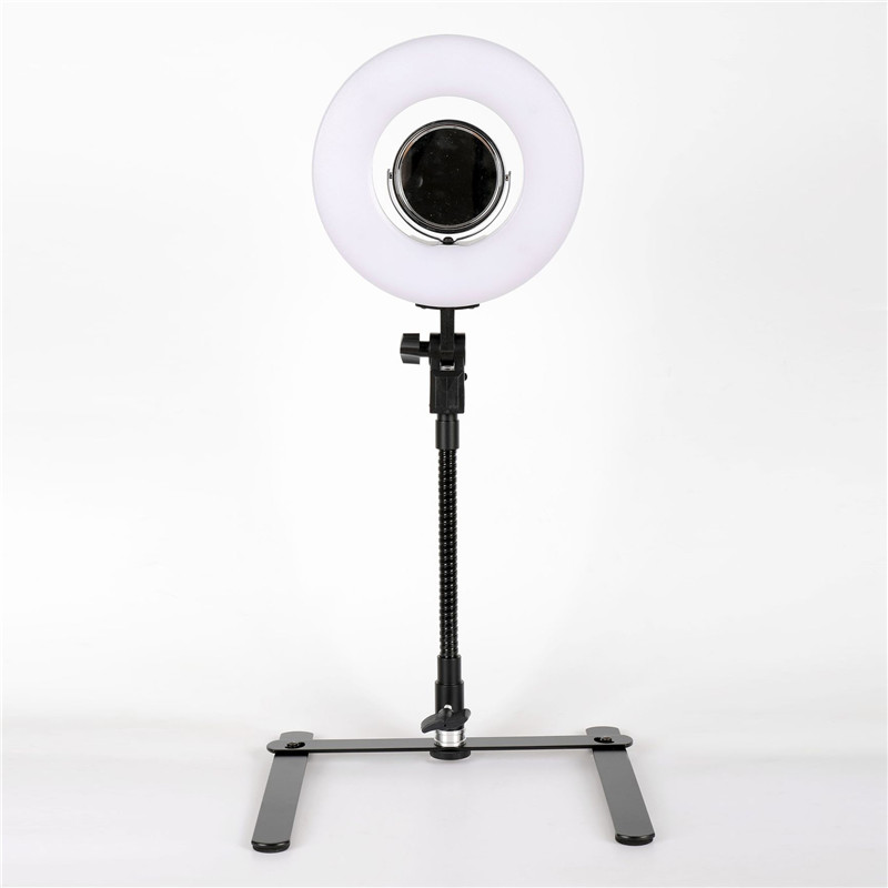 Studio Lighting For Streaming: Tycipy 8 Inch 5500K Dimmable Photo Studio Photography