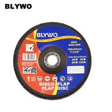 Купить с кэшбэком 1pc Abrasive 180mm 7inch Metal Sanding Flap Discs Angle Grinder Wheels for Metalworking