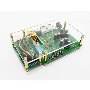 Image 4 - Lusya ES9038Q2M DSD I2S spdif dekoder kurulu amanero USB DAC ses amplifikatörü akrilik levha ile T0249