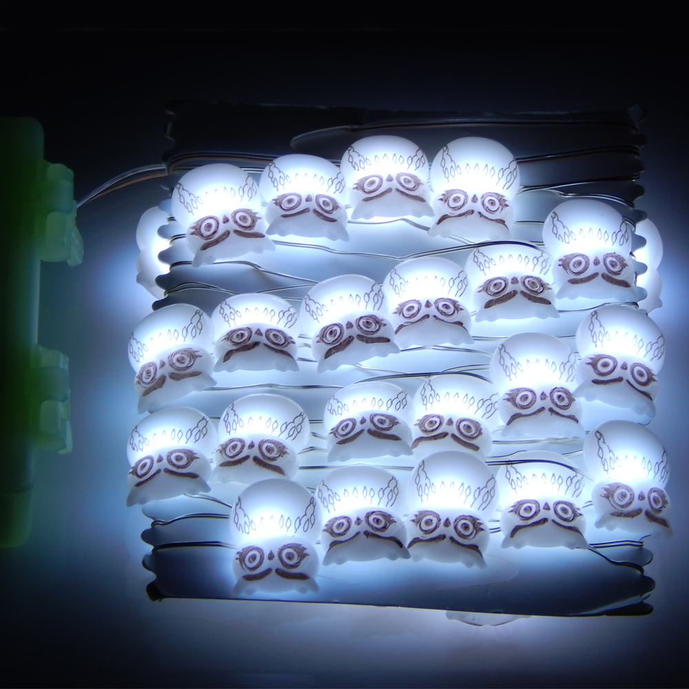 3m 40 LEDs Waterproof Battery Modelling Lights Copper Wire LED ...