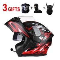 motorcycle helmet accessories casque casco moto Bluetooth kask led DOT for kawasaki ktm exc 450 suzuki yamaha mt 09 bmw s1000rr