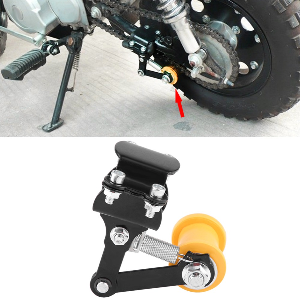 Color : Black Chain Tensioner-Adjuster Chain Tensioner Bolt On Roller Motorcycle Modified Accessories Universal Tool Red