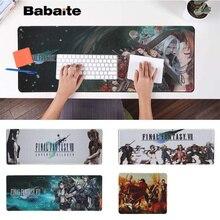 Babaite My Favorite Final Fantasy VII Gaming Player desk laptop Rubber Mouse Mat Free Shipping Large Pad Keyboards