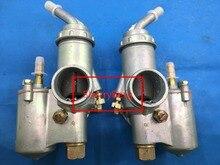 Pari carb twin cyclinder, K750 МОТОЦИКЛ КАРБЮРАТОР PZ28 carburador для BMW R50 R60/2 R69S R12 K750, R1, R71, M72, MW 750