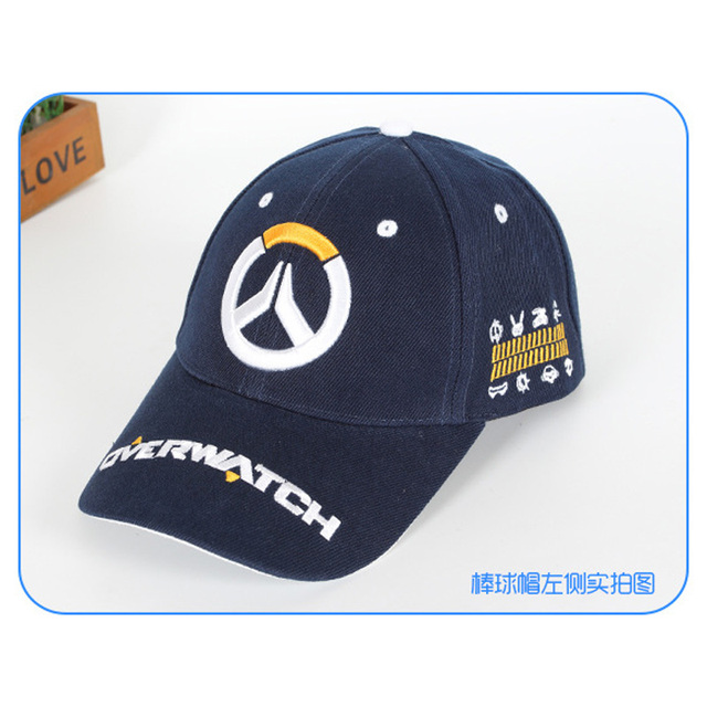 New Design Anime Overwatch Baseball Caps Hot Sale Attack On Titan Embroidery Original Hats for Men Women Clothing Accessories