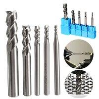 5pcs 3 Flute HRC50 Solid Carbide End Mill Cutter 2 8mm Diamter 50mm Length For CNC