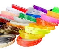 5 peças (Min. ordem) 10 M Caneta Filamento Impressora 3d PLA Filament 1.75 milímetros Material 3D alta temperatura incandescência filment flament