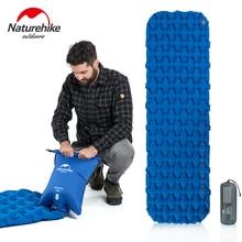 Naturehike сверхлегкий складной водонепроницаемый портативный одиночный надувной кемпинг надувной матрас спальный коврик альпинизмом спальный коврик