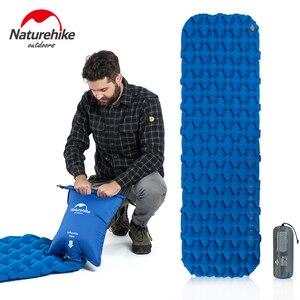 Naturehike Inflatable Mattress Ultralight Sleeping Pad Portable Single Camping Mat Air Mattress Folding Bed Travel Sleeping Mat(China)
