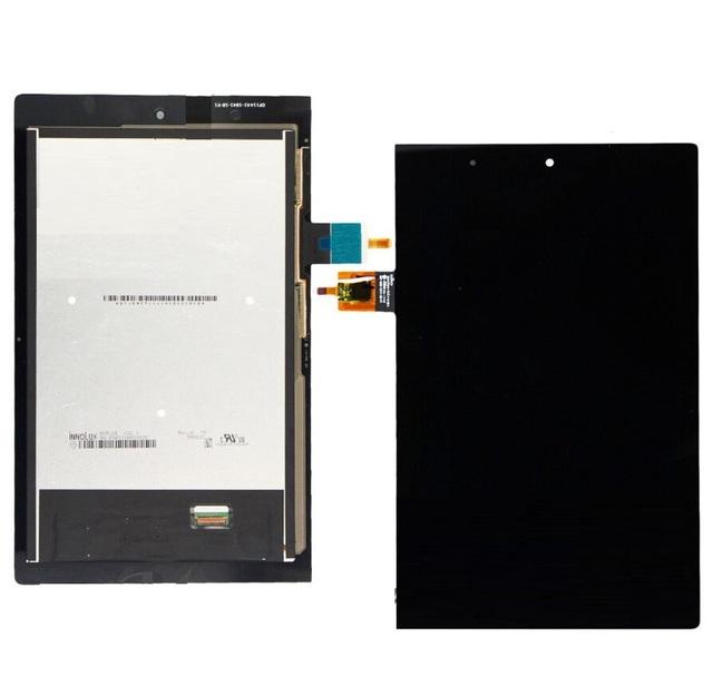 "Para 8 ""lenovo yoga tablet 2 830 830l completo lcd panel de visualización de la pantalla táctil digitalizador asamblea lente de cristal sensor"