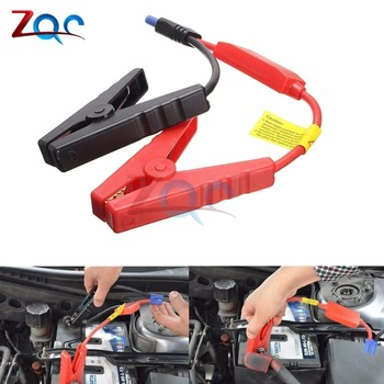 1 Pair Alligator Clip Emergency Lead Cable Battery Clamp for Car Trucks Jump Starter image