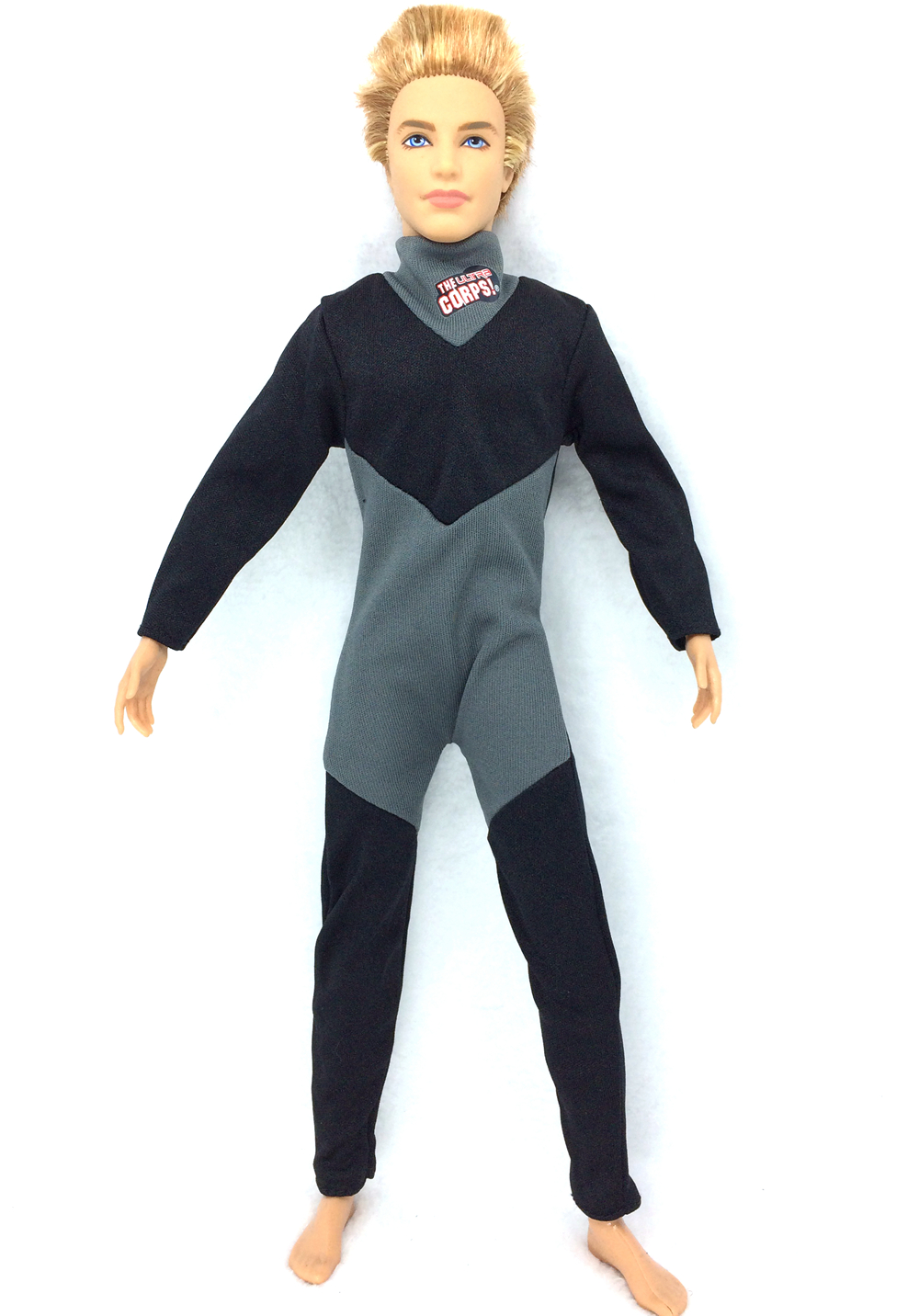 NK Unique Prince Garments Fight Diver Uniform Outfit For Barbie Boy Male Ken Doll For LANARD 1/6 Soldier Doll 012D