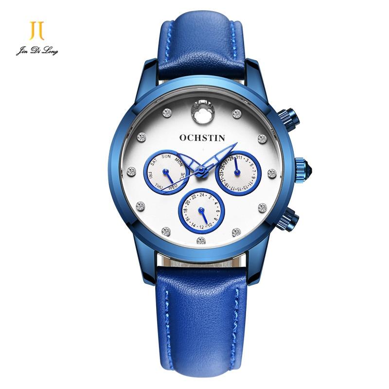 2017 OCHSTIN Women Watch Luxury Brand Fashion Watches Woman Ladies Diamond Relogio Feminino Dress Female Clock Relojes Mujer