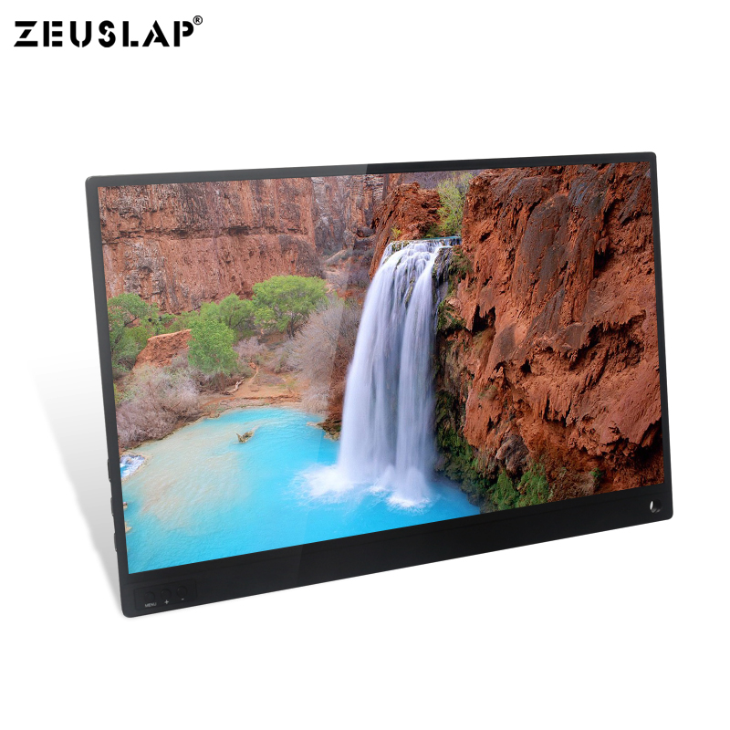 Image 3 - 15.6inch 1920X1080P FHD with Touching Function Mini Portable Monitor Screen for PS4/Switch/Samsung DEX/Huawei EMUI/Hammer TNT-in LCD Monitors from Computer & Office