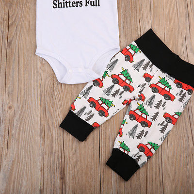 Pudcoco Toddler Infant Baby Boys Girls 2017 Clothes T-shirt Short Sleeves Tops+Pants Outfits Set Clothes 0-18M