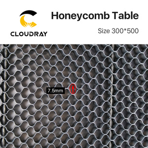 Image 4 - Cloudray Honeycomb Working Table 300*500 mm Customizable Size Board Platform Laser Parts  for CO2 Laser Engraver Cutting Machine