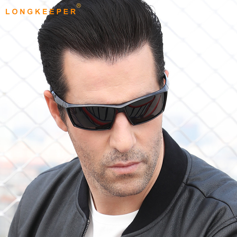 Long Keeper Promotion Polarized Sunglasses Men Brand Designer Men Goggles Glasses High Quality Lower Price Eyewear KP1005 ...