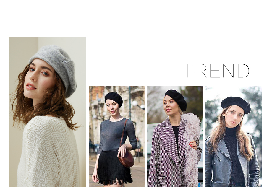 Women Knitted Beret Winter Warm Hat Female 2018 New Brand British Style Lady Painter Bonnet Hats Solid Color Beanies Wholesale (3)