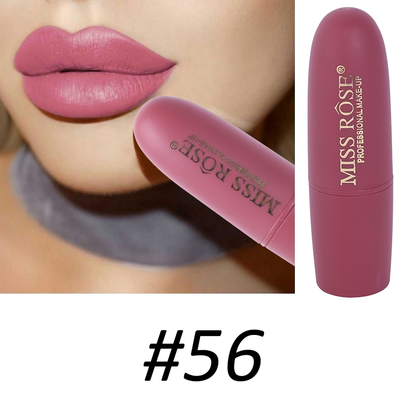 Women Makeup Lips Sexy Matte Lipstick Waterproof Velvet Batom Pigments Moisturizer Lipstick Matte Lips maquiagem New 18 67