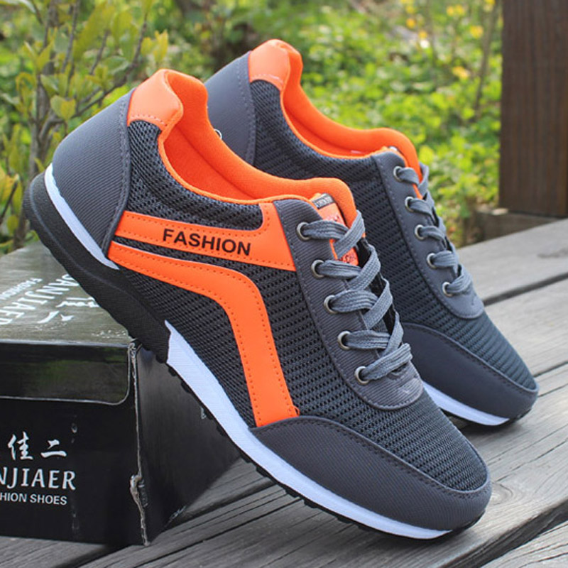 LEMAI New 2016 PU Leather Shoes Shoes Men Flats Lace Up Autumn Men Zapatillas Hombre